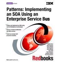 Patterns: Implementing an SOA Using an Enterprise ... - IBM Redbooks