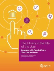 The Library in the Life of the User