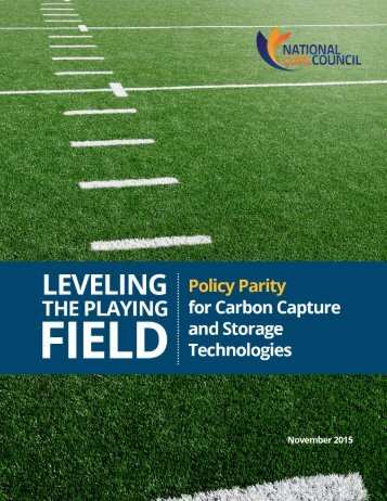 Leveling-the-Playing-Field-for-Low-Carbon-Coal-Fall-2015