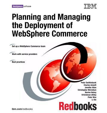 Planning and managing the deployment of ... - IBM Redbooks