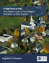 A High Price to Pay The Hidden Costs of Corn-Ethanol Mandates on New England