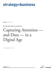 Capturing Attention — and Data — in a Digital Age