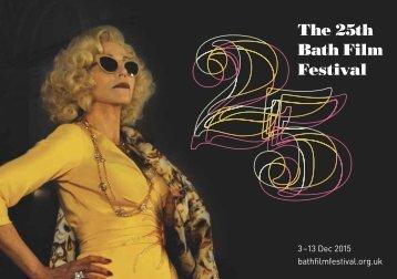 The 25th Bath Film Festival