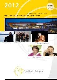 2012 - Stadthalle Balingen