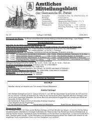 Nr. 23 Auflage 1100 Stück 10.06.2010 - St. Peter