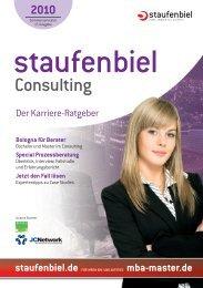 Staufenbiel Consulting - Der Karriere-Ratgeber
