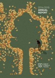 2014/2015 ANNUAL REPORT