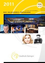 Bw-Musix 2011 - Stadthalle Balingen