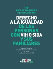 DERECHO A LA IGUALDAD DE LAS PERSONAS CON O Y SUS FAMILIARES