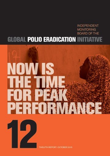 NOW IS THE TIME FOR PEAK PERFORMANCE