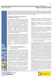 Recomendaciones para la prevención de errores de medicación ISMP-España