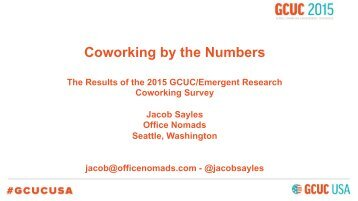Coworking by the Numbers