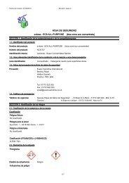 HOJA DE SEGURIDAD e:dose - EC6 ALL-PURPOSE (blue zone eco concentrate)