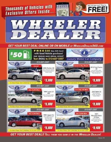 Wheeler Dealer Issue 46, 2015