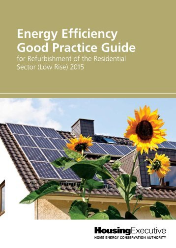 Energy Efficiency Good Practice Guide