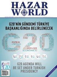 HAZAR WORLD - SAYI: 36 - KASIM 2015