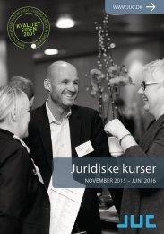 JUC kurser for advokater og jurister 7-2015
