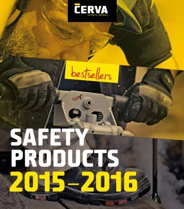 Echipamente Protecția Muncii - Cerva Catalog 2015-2016