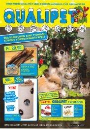 QUALIPET Flyer November / Dezember 2015