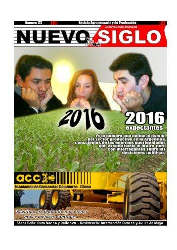 Revista Agropecuaria Nuevo Siglo Número 137 - Noviembre 2015
