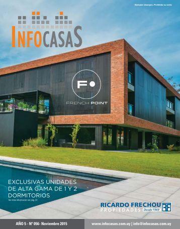 Revista InfoCasas - Número 56 - Noviembre 2015