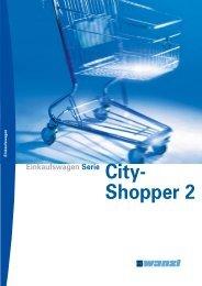 Einkaufswagen City Shopper 2