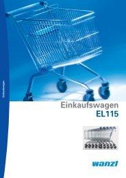 Einkaufswagen EL 115