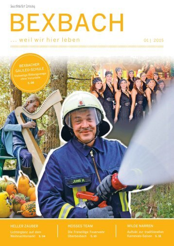 Stadtmagazin Bexbach 01|2015