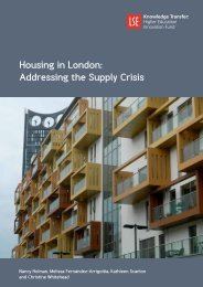 Housing in London Addressing the Supply Crisis