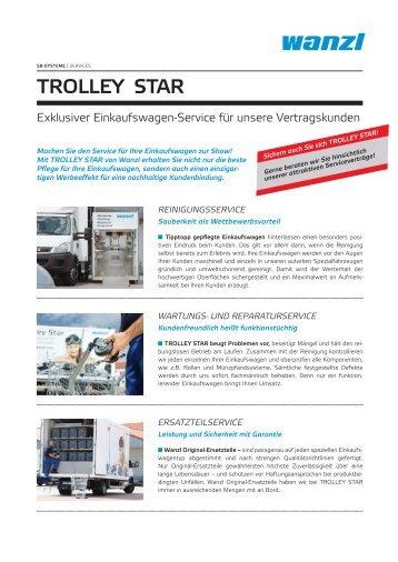 Einkaufswagen-Service Trolley Star