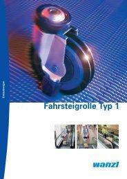 Fahrsteigrolle-Typ1