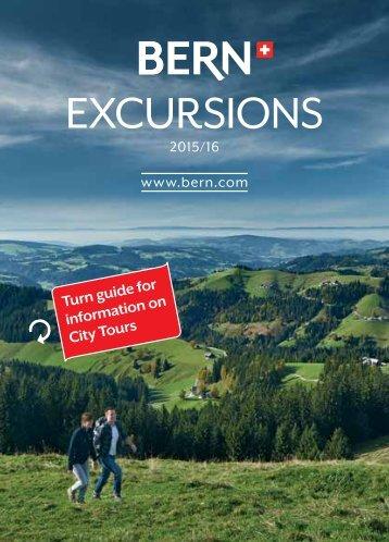 Bern Excursions 2015 / 2016