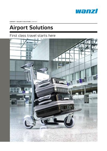 Gesamtkatalog Airport Solutions