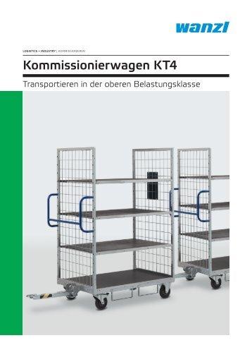 Kommissionierwagen KT4