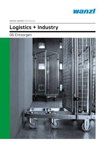 Logistics und Industry Entsorgen