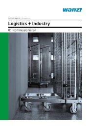 Logistics und Industry Kommissionieren