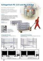 Schlagertische System P - Seite 4