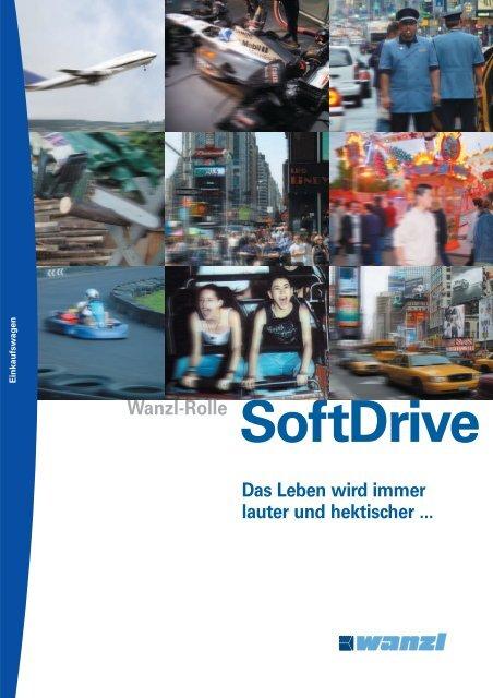 Wanzl SoftDrive-Rolle