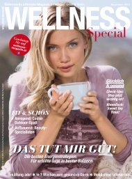 WELLNESS Magazin Special - November 2015