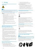 Philips Cuffie stereo Bluetooth - Istruzioni per l'uso - DEU - Page 3