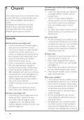 Philips Altoparlante SoundStage - Istruzioni per l'uso - TUR - Page 4