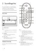 Philips Altoparlante SoundStage - Istruzioni per l'uso - TUR - Page 6