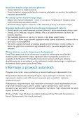 Philips Lettore audio con memoria flash - Istruzioni per l'uso - POL - Page 5