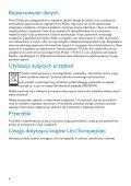 Philips Lettore audio con memoria flash - Istruzioni per l'uso - POL - Page 6