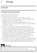 Philips SoundShooter Altoparlante portatile - Istruzioni per l'uso - DEU - Page 7