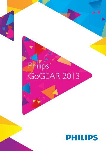 Philips GoGEAR Lettore MP3 - Product Brochure - AEN