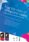 Philips GoGEAR Lettore MP3 - Product Brochure - AEN - Page 7