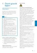 Philips GoGEAR Lettore MP4 - Istruzioni per l'uso - TUR - Page 4