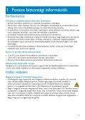 Philips GoGear Lettore audio con memoria flash - Istruzioni per l'uso - HUN - Page 5