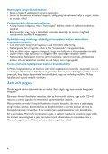 Philips GoGear Lettore audio con memoria flash - Istruzioni per l'uso - HUN - Page 6